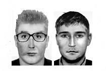 Takto přibližně vypadají muži, kteří mohou mít na svědomí krádež v Holýšově.