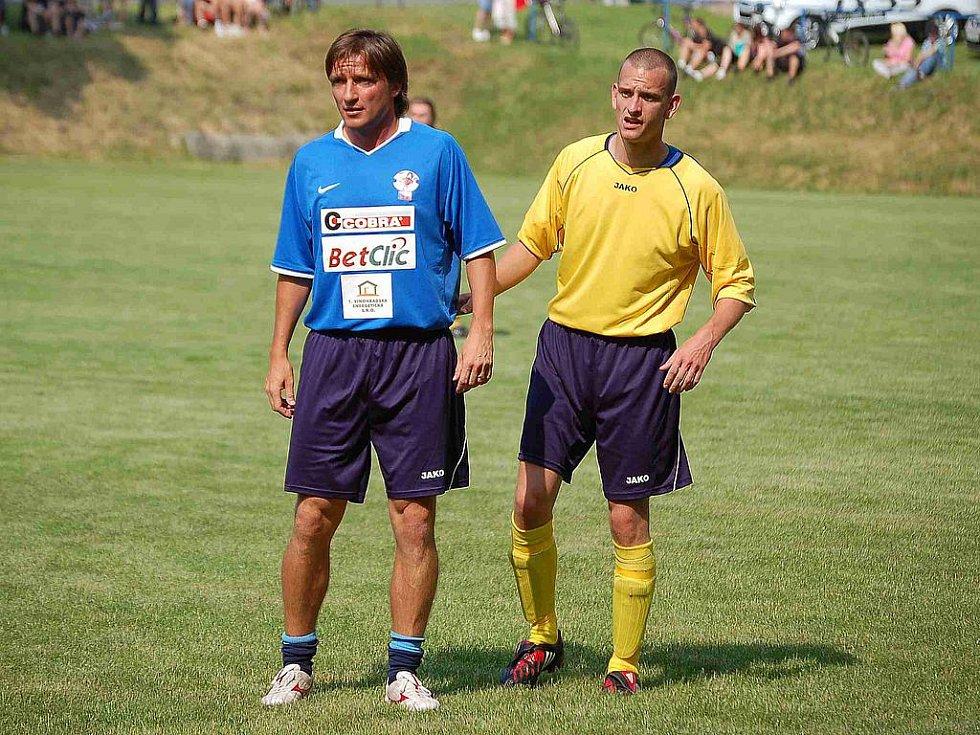 Do Krchleb zavítaly herecké a sportovní osobnosti.