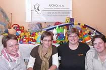 Členky tlumačovského UCHA zorganizovali charitativní sbírku hraček pro Ranou péči Diakonie Stodůlky