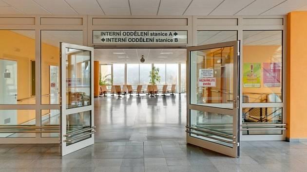 Interní oddělení Domažlické nemocnice.