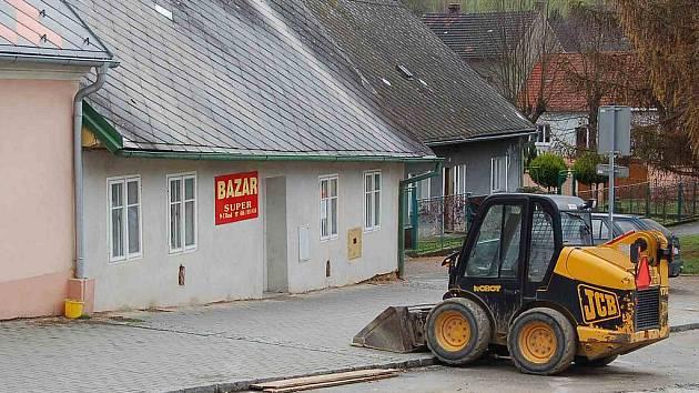 V tomto bazaru byl nalezen zavražděný podnikatel.