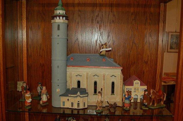 Z vánoční výstavy v Muzeu Chodska v Domažlicích.