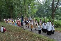 Mše svatá na Vavřinečku, 13. srpna 2011.