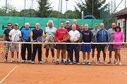 Tenisový turnaj čtyřher nad 50 let Šumavská padesátka v Domažlicích 25.8.2018