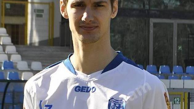 Fotbalista Petr Hošek.