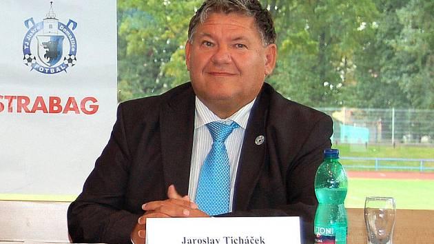 Prezident fotbalové Jiskry Domažlice Jaroslav Ticháček.