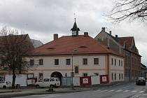 Rekonstrukce staré radnice ve Staňkově.