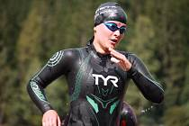 Jana Brantlová na triatlonovém závodě Xterra Prachatice 2020. Foto: fb Velosport Domažlice.