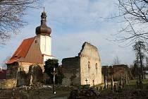 Nadšenci vracejí kostelu svatého Mikuláše v Šitboři u Poběžovic jeho původní tvář.