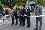 Ze slavnostního otevření silnice II/189 v Klenčí.