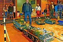 František Lamka předvedl úžasné RC modely vojenských vozidel.