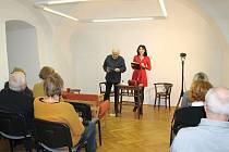 Poetické divadlo představilo básně Pavla Šruta.