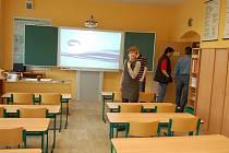 Slavnostní otevření opravené koutské školy.