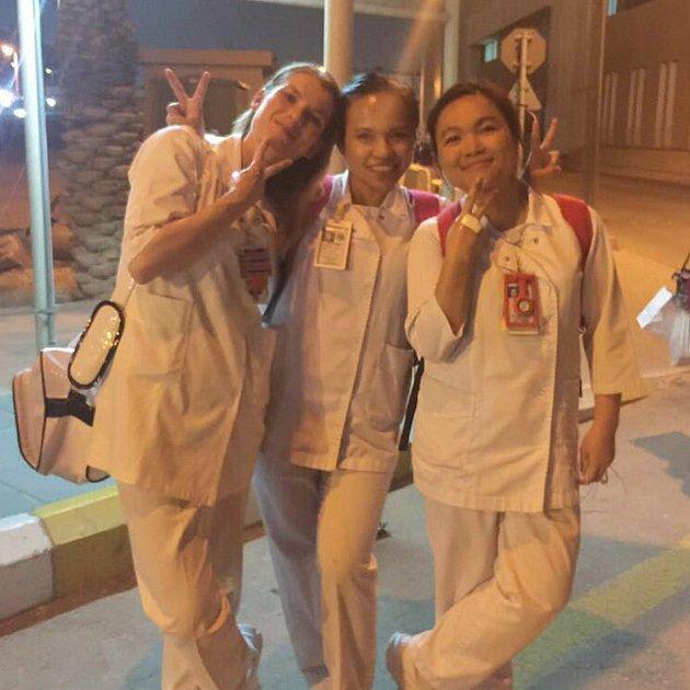 Domažlická rodačka pracovala  jako zdravotní sestra vRijádu.