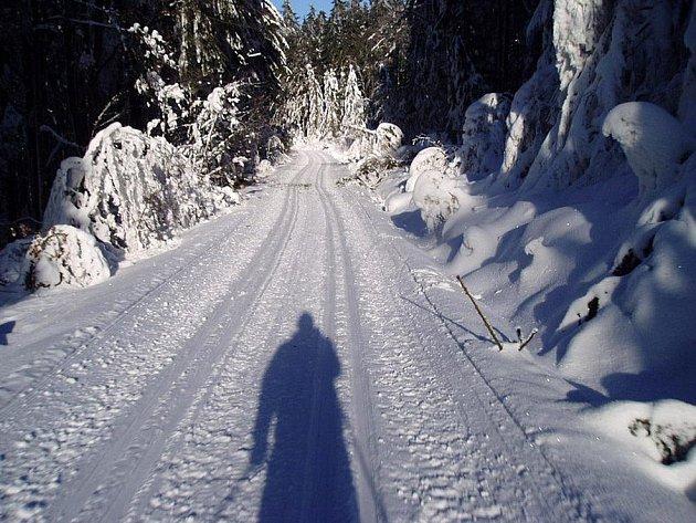 Ilustrační snímek. V Caparticích a v okolí Čerchova se už lyžuje.