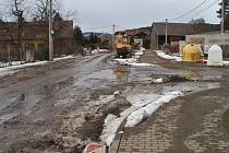 Takto vypadaly Pocinovice v únoru roku 2019. Foto: Zdeněk Huspek