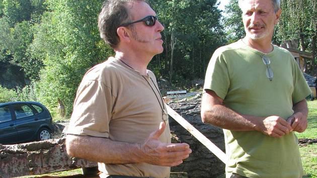 Umberto Righero a Vincent Brodin se do Lomečku těšili.