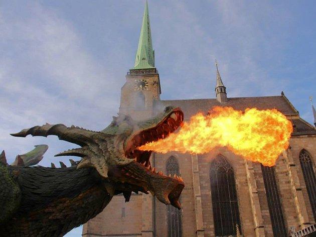 FURTHSKÝ DRAK byl letos představen také v Plzni.
