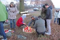 Památka na zesnulé děti na Baldově.