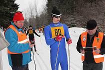 Závod v běhu na lyžích Výhledská 15.
