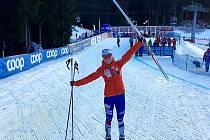 Tour de Ski dokončila Kateřina Razýmová ve velké únavě, ale s úsměvem na tváři. Získala konečné 23. místo.