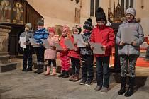 Třetí adventní neděle se v Újezdu Sv. Kříže vydařila.
