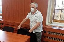 Jaroslav Krotký (50) ze Švihova na Klatovsku u domažlického okresního soudu.