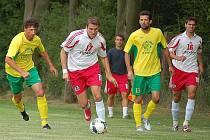 Fotbalisté Dynama H. Týn se v přípravě na novou sezonu v I. A třídě utkali v Blížejově s týmem FK Holýšov, účastníkem krajského přeboru.