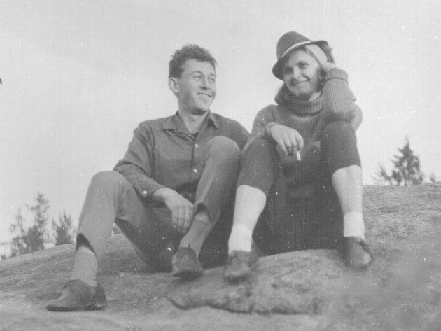 Zdeňka Prachařová na snímcích zroku 1965.