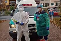 Domažlická odběrová sanita znovu jezdí po regionu.