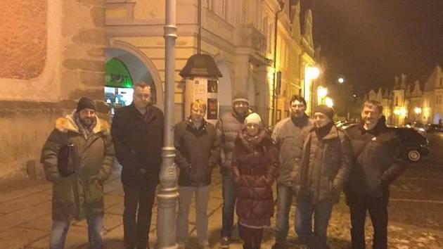 I v Domažlicích se lidé vyjádřili proti Zdeňku OndráčkoviFoto: