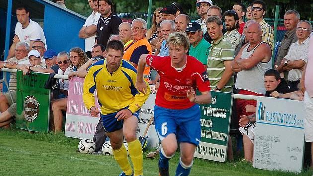 První přípravný zápas sehráli fotbalisté Viktorie Plzeň v Kolovči s divizním Slavojem.