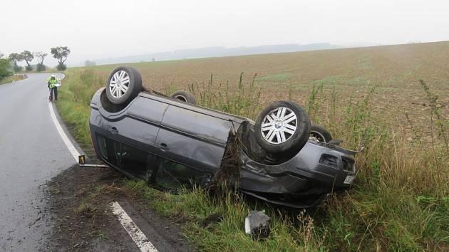 Páteční dopravní nehoda v Draženově.