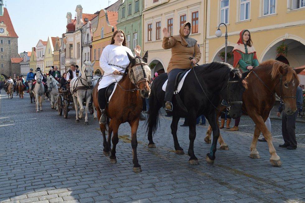 Svatováclavská jízda 2017