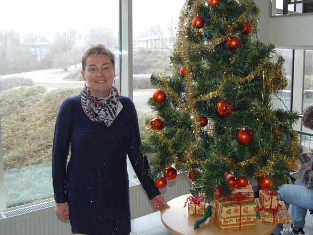 ALENA MICHELFEITOVÁ, recepční z Domažlické nemocnice, strávila už tři Štědré večery v práci.