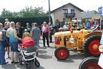 Setkání traktorů v Brnířově.
