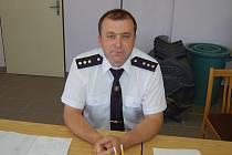 Miroslav Mayer, velitel zásahové jednotky SDH Vlkanov.