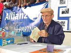 Legendární běžec Vlastimil Zwiefelhofer.