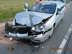 Nehoda u Hadrovce.