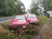 Při nehodě nebyl nikdo zraněn.