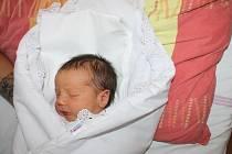 Lucas Bolek z Boru u Tachova (3 110 g, 49 cm) se narodil v Domažlické nemocnici 11. prosince v 18:44 hodin mamince Kataríně Harvanové a tatínkovi Antonínu Bolekovi. Doma se na brášku těšila Katrin Bolková.