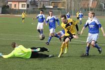 Ilustrační snímek z utkání fotbalistů FC Dynamo Horšovský Týn.