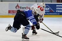 Z utkání hokejistů HC Domažlice A a HC Klatovy B.