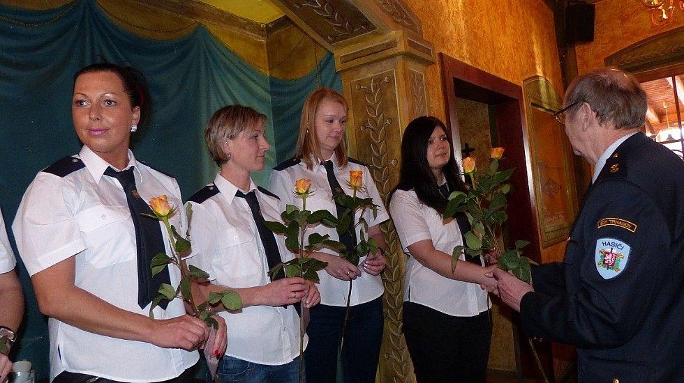 Z Výroční valné hromady SDH Trhanov.
