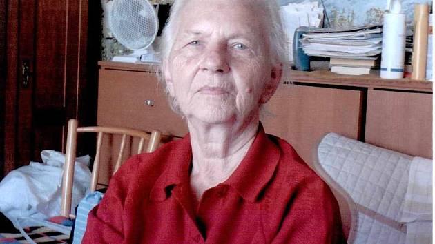 Pohřešovaná Hana Vaníčková.