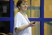 PLAVECKÁ PŘÍPRAVKA. Ludmila Hojdová patří k těm, kteří se v přípravce věnují výuce plavání malých dětí.