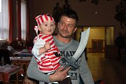 Dětský maškarní karneval v Draženově.
