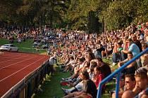 Skvělá atmosféra panovala ve čtvrtek 1. září na Střelnici, kde se před zraky 3 950 diváků utkala v pohárovém utkání Jiskra Domažlice se Spartou Praha.