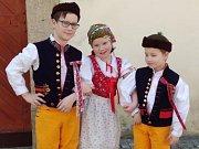 Vystoupení žáků umělecké školy v domě pro seniory v Domažlicích.