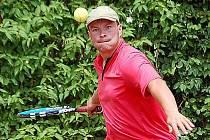Z utkání v Davis Cupu na Domažlicku.